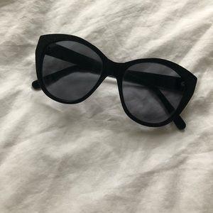 Black w/ Gold Flecks Sunglasses